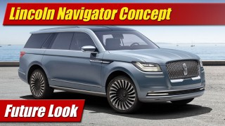 Future Look: Lincoln Navigator Concept