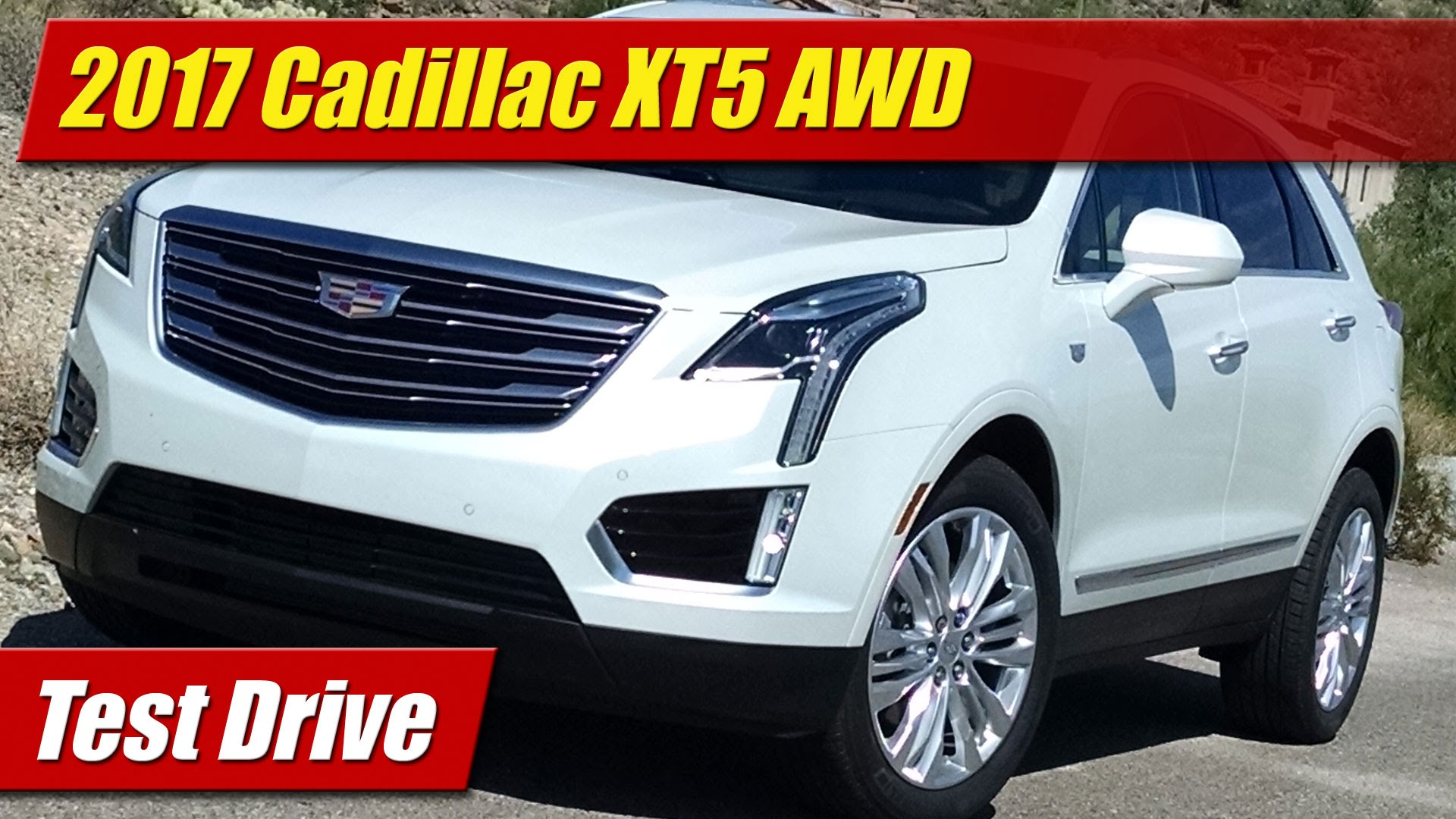 test drive 2017 cadillac xt5 awd testdriven tv. Black Bedroom Furniture Sets. Home Design Ideas