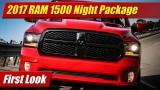 First Look: 2017 Ram 1500 Night Package