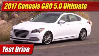 Test Drive: 2017 Genesis G80 5.0 Ultimate