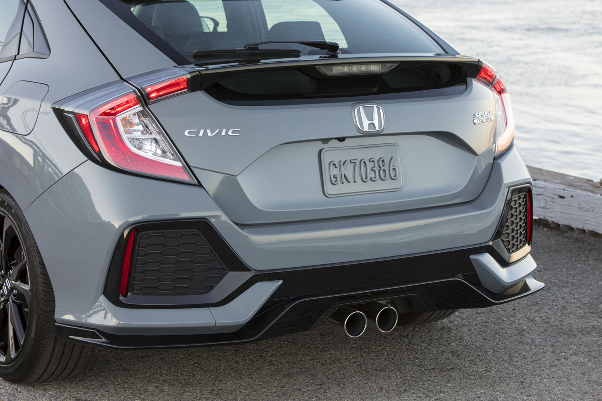 2017 Honda Civic Hatch 6