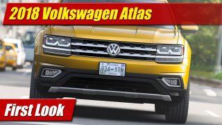 2018 Volkswagen Atlas: First Look