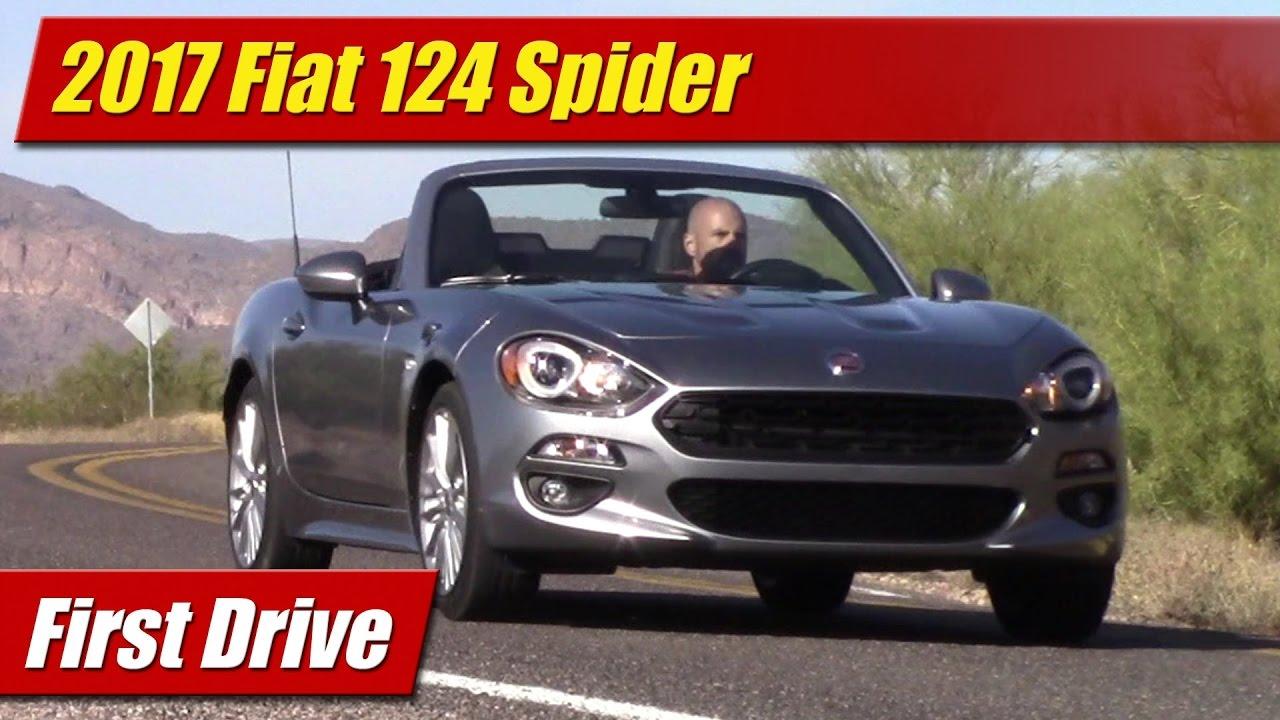 First Drive: 2017 Fiat 124 Spider