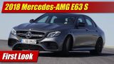 First Look: 2018 Mercedes-AMG E63 S