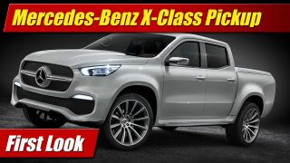 First Look: Mercedes-Benz X-Class Pickup