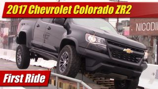 First Ride: 2017 Chevrolet Colorado ZR2