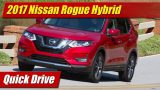 Quick Drive: 2017 Nissan Rogue Hybrid