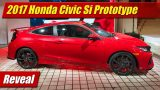 Reveal: 2017 Honda Civic Si