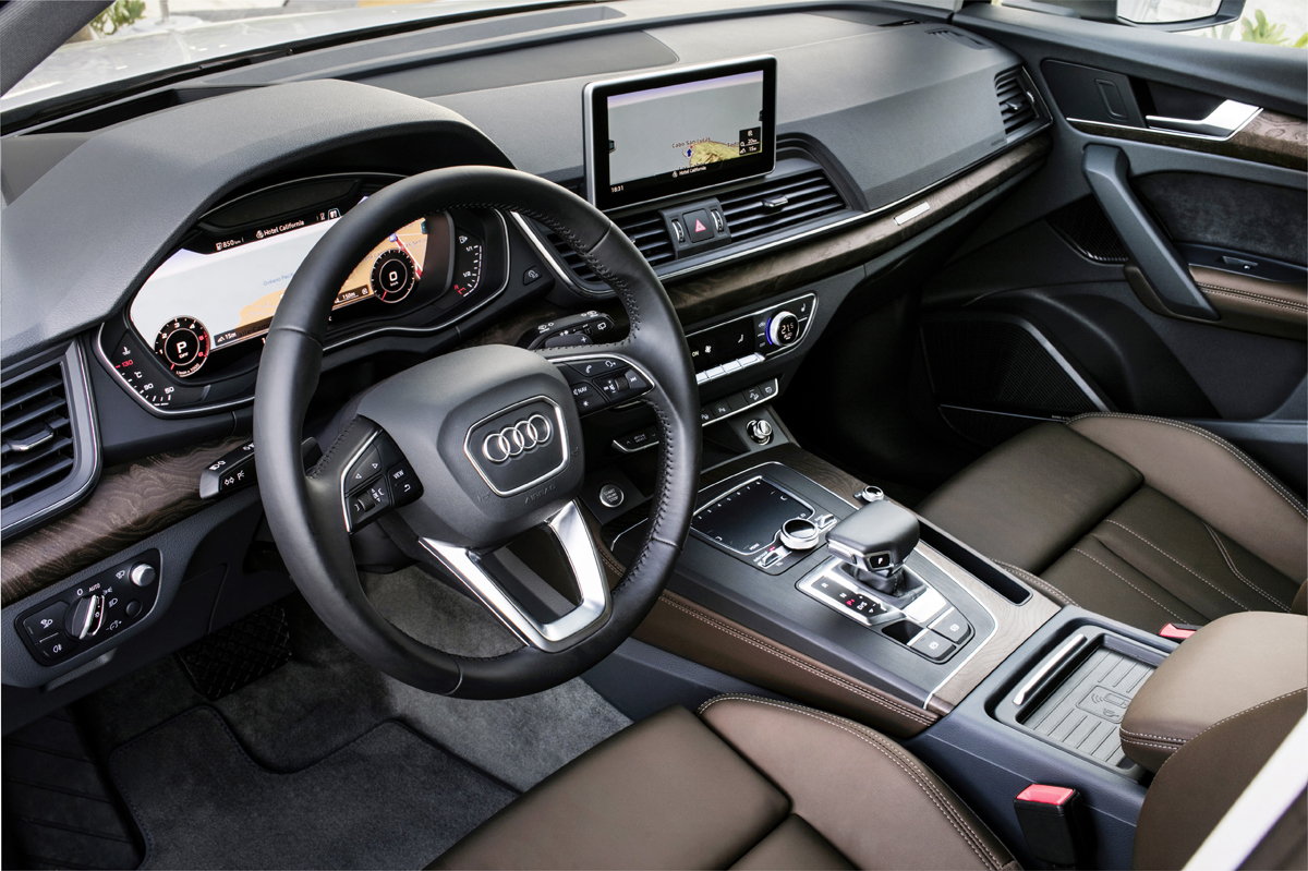 2018 audi q5. modren 2018 this provides increased fuel efficiency for most everyday driving  conditions but can enhance handling feel on windy roads when you are aggressively  with 2018 audi q5