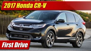 First Drive: 2017 Honda CR-V Touring