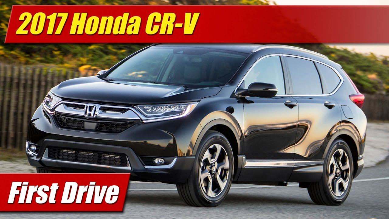first drive 2017 honda cr v touring testdriven tv. Black Bedroom Furniture Sets. Home Design Ideas