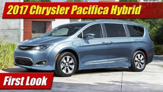 First Look: 2017 Chrysler Pacifica Hybrid
