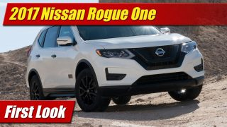 First Look: 2017 Nissan Rogue One Star Wars Limited Edition