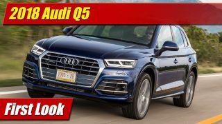 First Look: 2018 Audi Q5