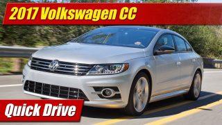 Quick Drive: 2017 Volkswagen CC