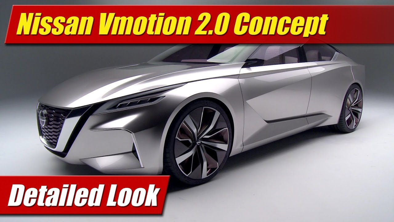 Detailed Look: Nissan Vmotion 2.0 Concept