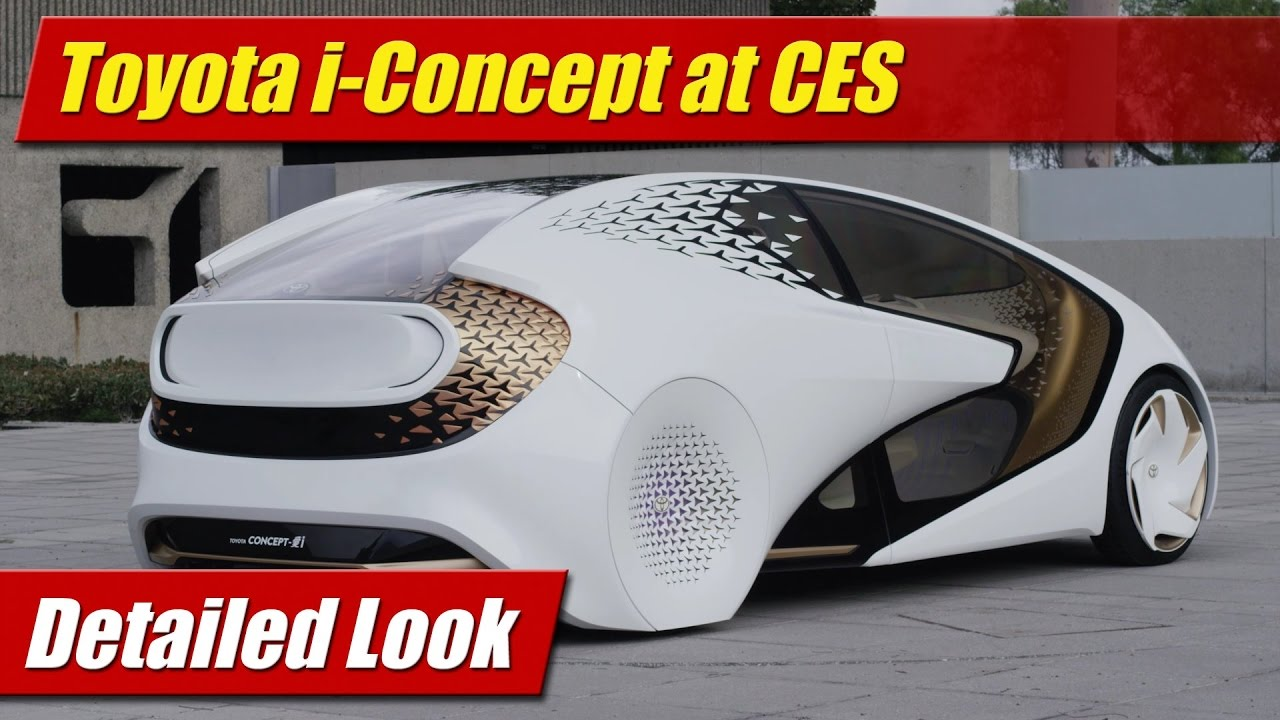 Detailed Look: Toyota i-Concept at CES