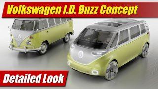Detailed Look: Volkswagen ID Buzz Concept
