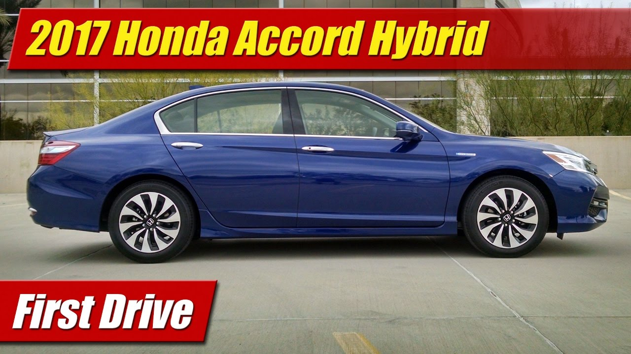 First Drive: 2017 Honda Accord Hybrid - TestDriven.TV