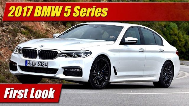 First Look: 2017 BMW 5 Series