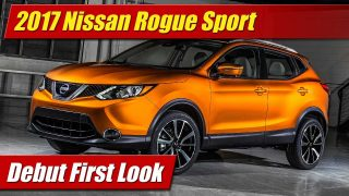First Look: 2017 Nissan Rogue Sport