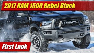 First Look: 2017 RAM 1500 Rebel Black