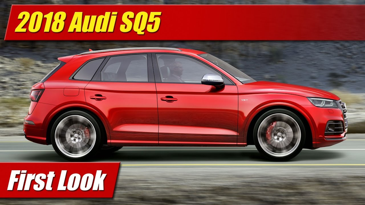 first look 2018 audi sq5 testdriven tv. Black Bedroom Furniture Sets. Home Design Ideas