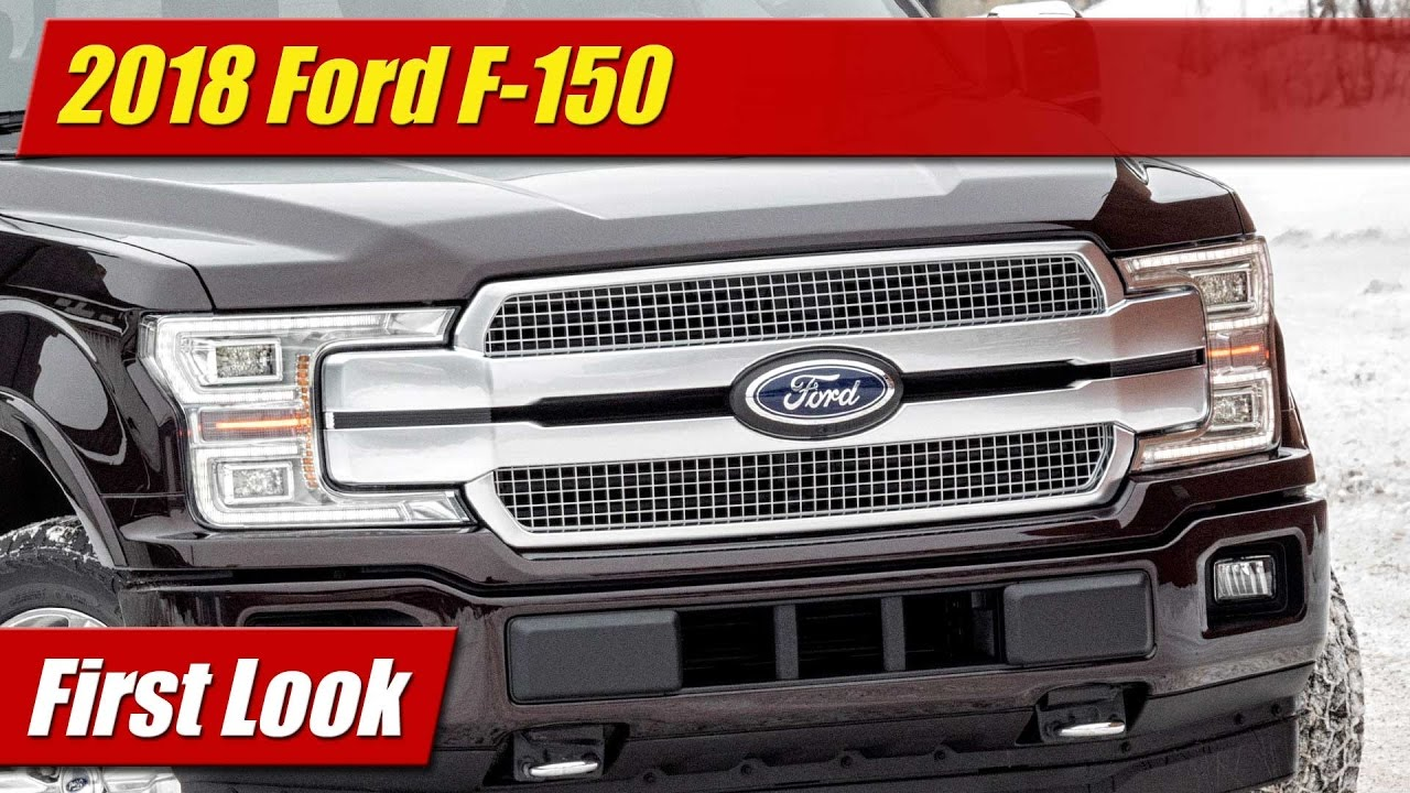 Excellent First Look 2018 Ford F150  TestDrivenTV
