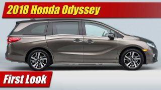 First Look: 2018 Honda Odyssey