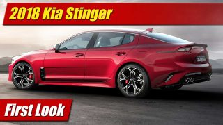 First Look: 2018 Kia Stinger