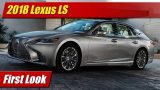 First Look: 2018 Lexus LS