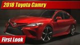 First Look: 2018 Toyota Camry