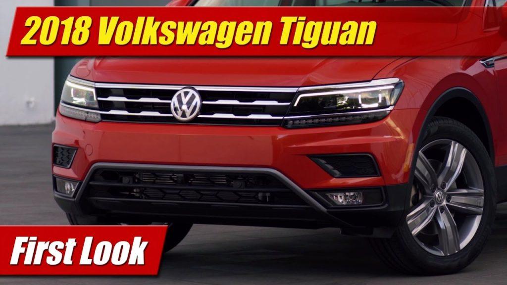 Beautiful First Look 2018 Volkswagen Tiguan  TestDrivenTV