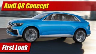 First Look: Audi Q8 Concept