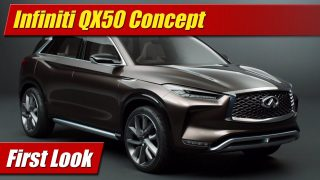 First Look: Infiniti QX50 Concept
