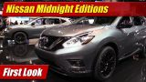 2017 Nissan Midnight Editions: First Look