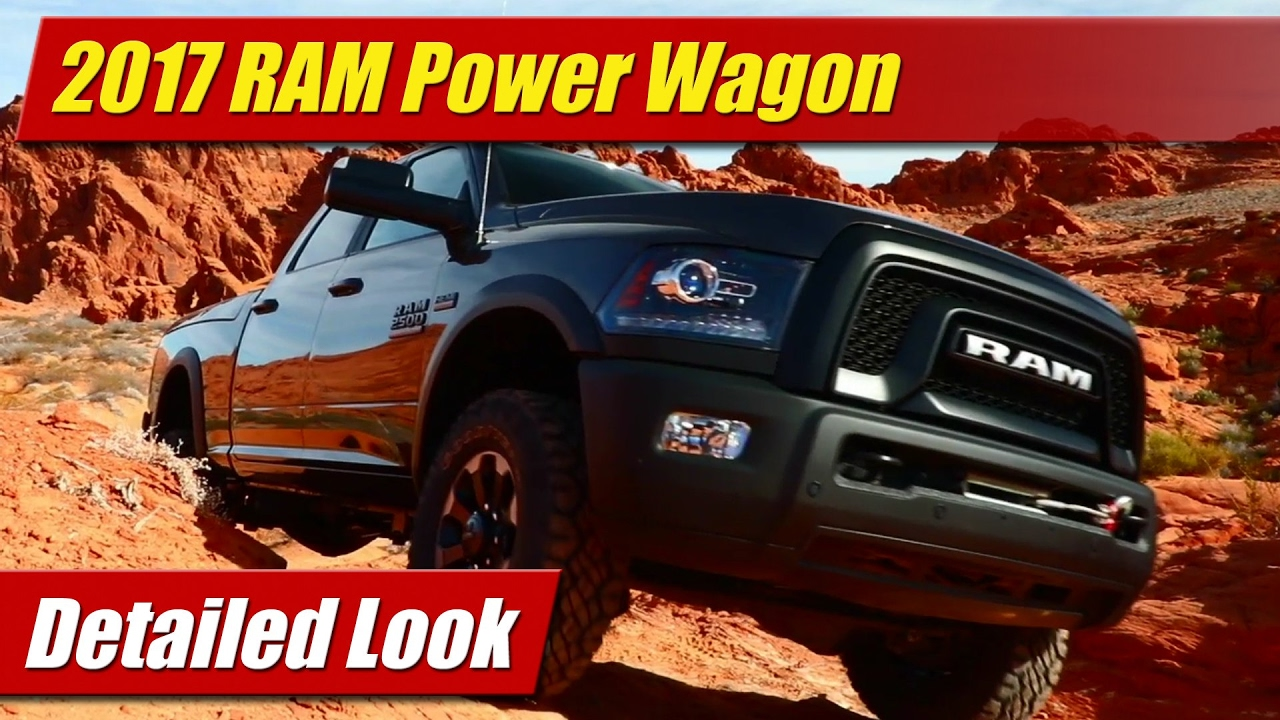 Perfect Detailed Look 2017 RAM Power Wagon  TestDrivenTV