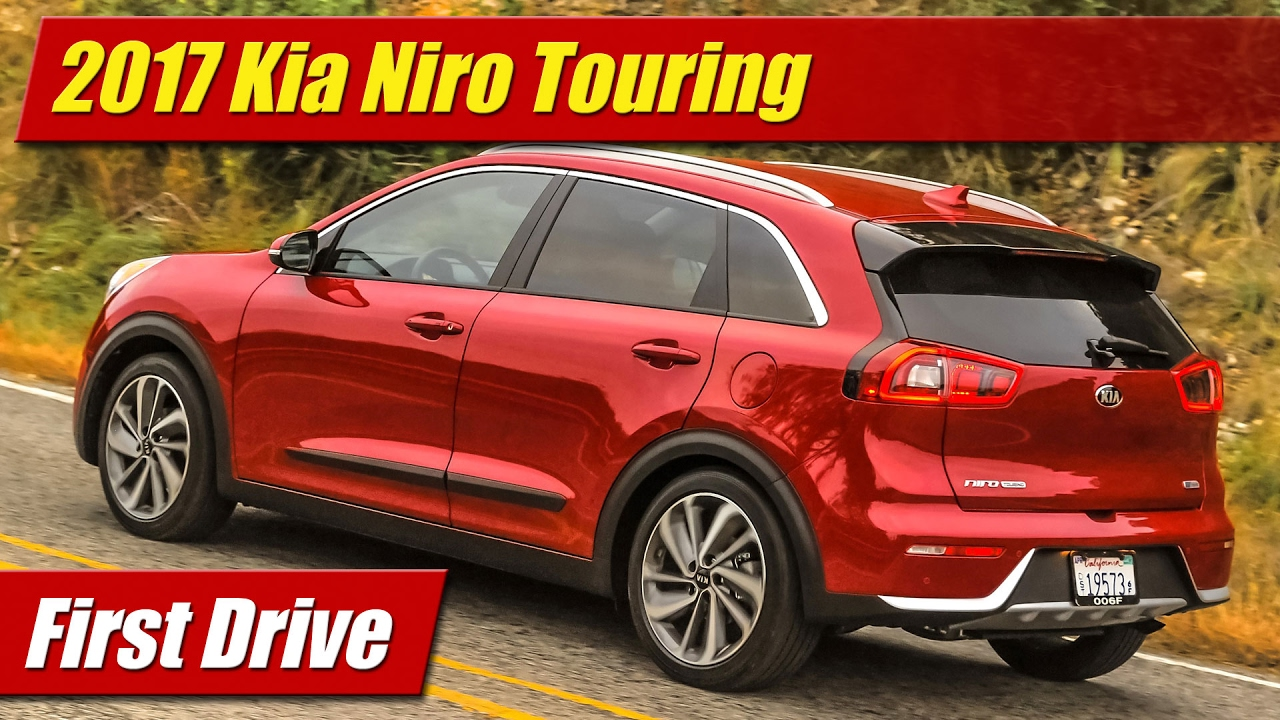 first drive 2017 kia niro touring testdriven tv. Black Bedroom Furniture Sets. Home Design Ideas