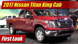 First Look: 2017 Nissan Titan King Cab