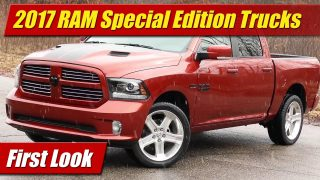 First Look: 2017 Ram Copper Sport and Night Special Editions