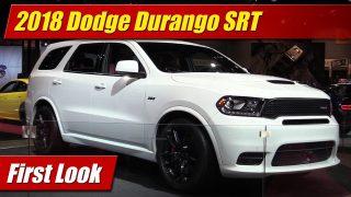 First Look: 2018 Dodge Durango SRT