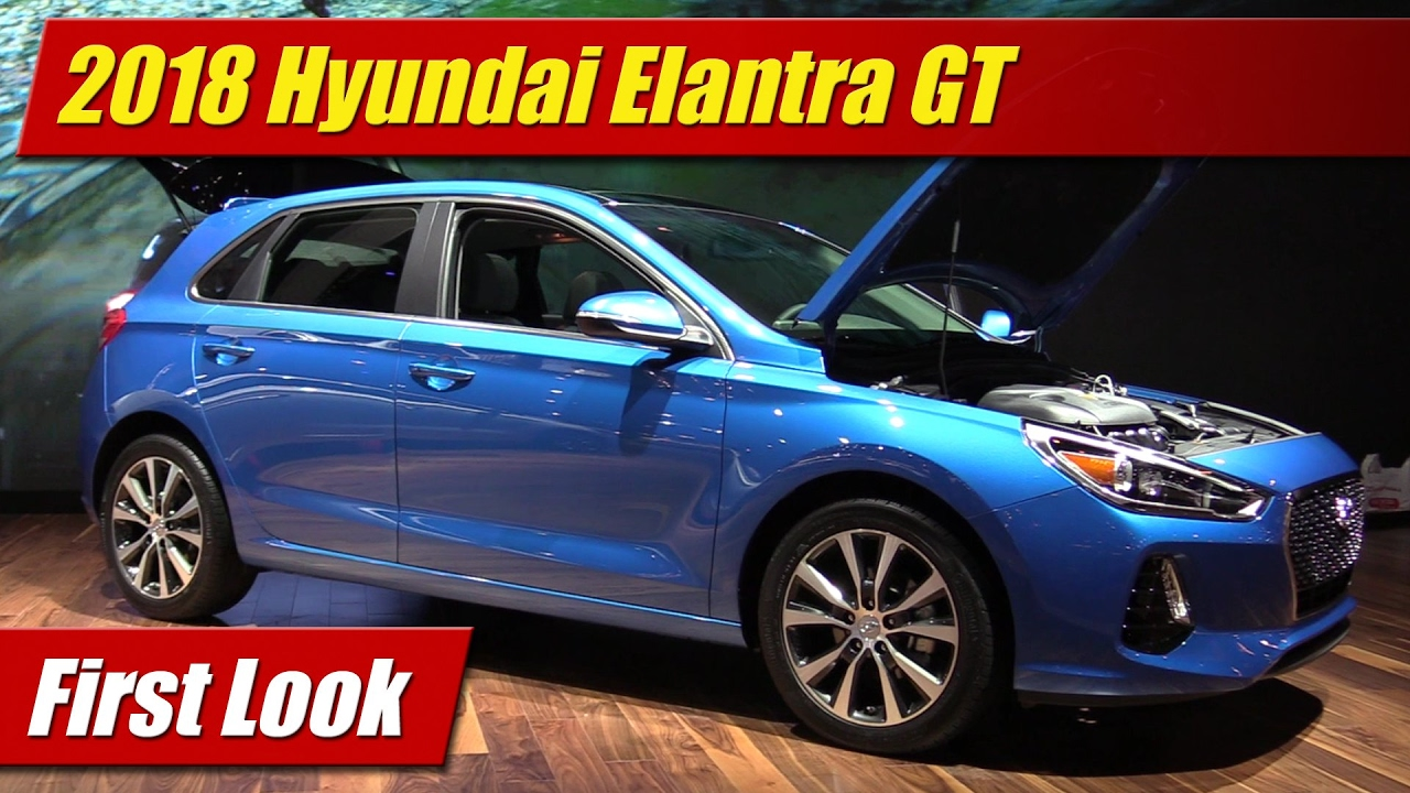 Simple First Look 2018 Hyundai Elantra GT  TestDrivenTV