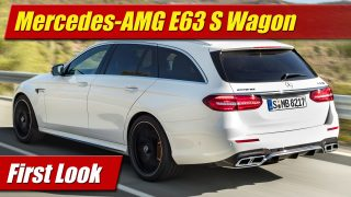 First Look: 2018 Mercedes-AMG E63 S Wagon