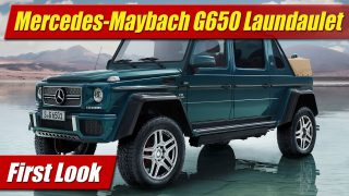 First Look: Mercedes-Maybach G 650 Landaulet