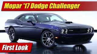 First Look: Mopar '17 Dodge Challenger