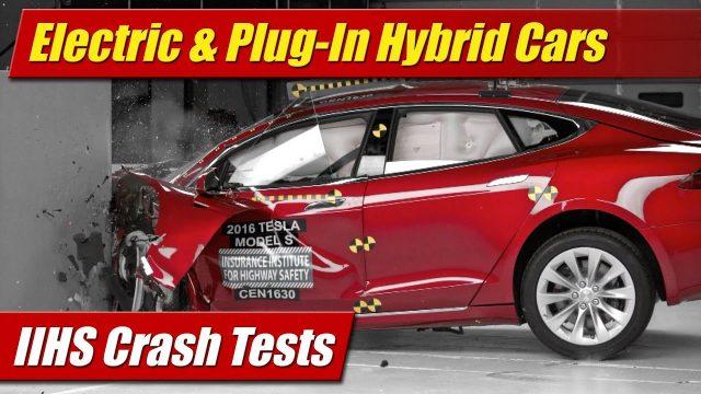 IIHS Crash Tests: Electric & Plug-In Hybrid Cars
