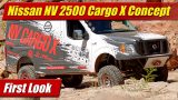 Nissan NV 2500 Cargo X Concept: First Look