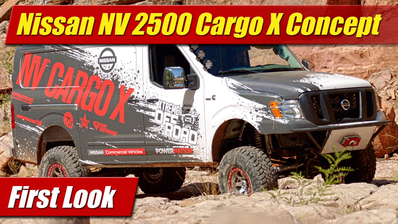 Awesome Nissan NV 2500 Cargo X Concept First Look  TestDrivenTV