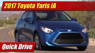 Quick Drive: 2017 Toyota Yaris iA