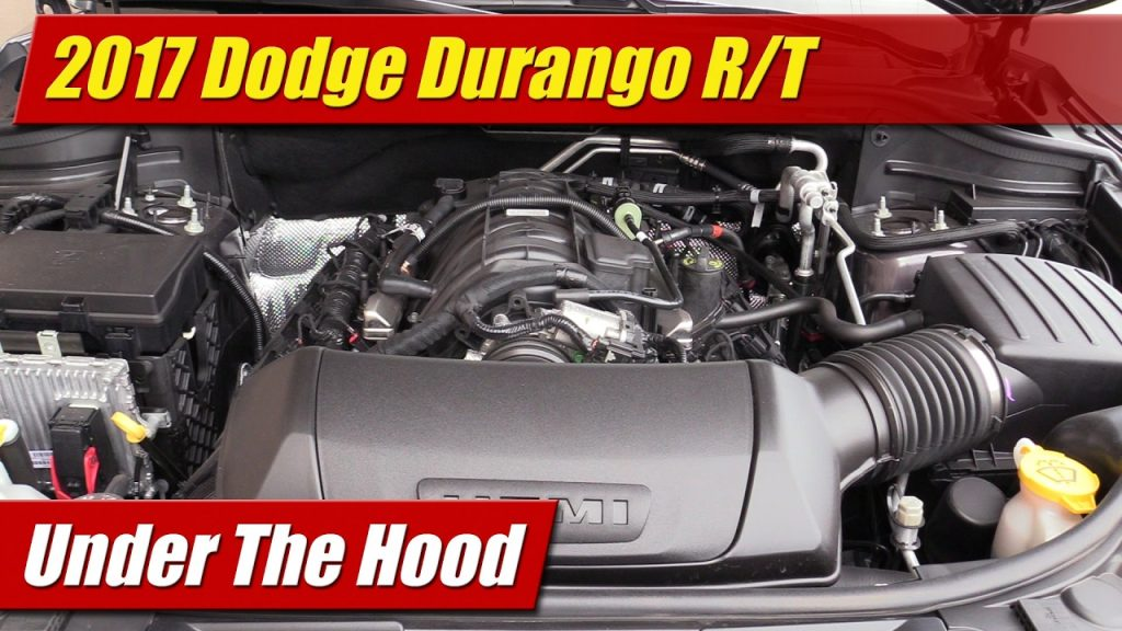 under the hood 2017 dodge durango r t testdriven tv. Black Bedroom Furniture Sets. Home Design Ideas